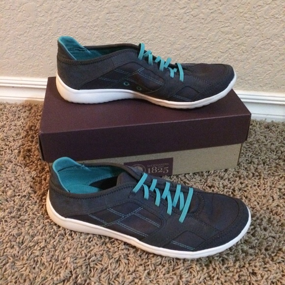fair price new reputation first Clarks Arbor Jade navy sneakers Ortholite insoles
